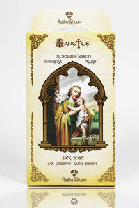 Sanctus Incense Cones: Saint Joseph - Nard