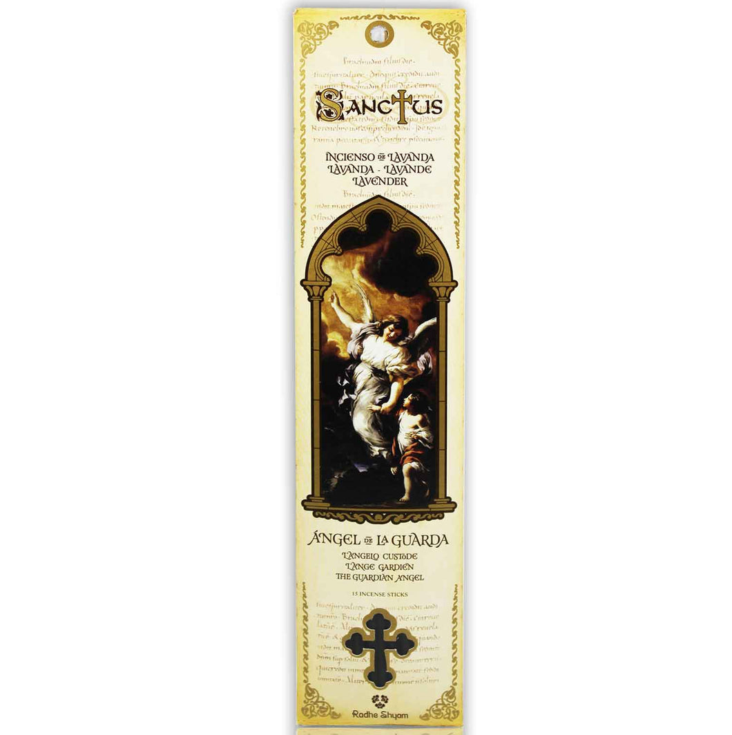 Sanctus Incense Sticks: Guardian Angel - Lavender