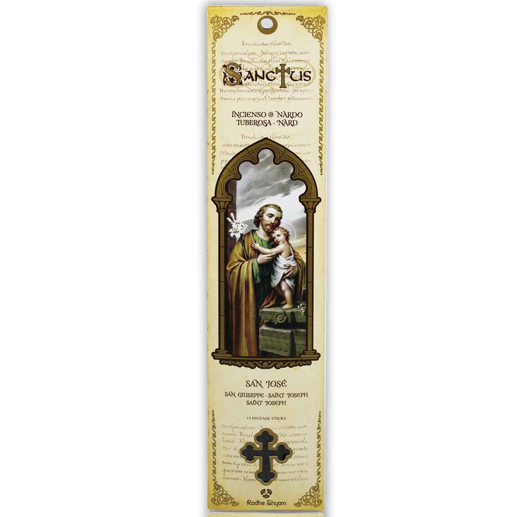 Sanctus Incense Sticks: Saint Joseph - Nard