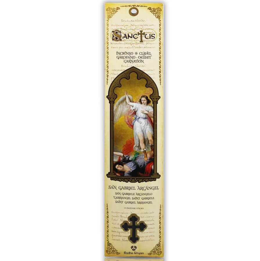 Sanctus Incense Sticks: Saint Gabriel the Archangel - Carnation