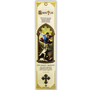 Sanctus Incense Sticks: Saint Michael the Archangel - Natural Incense