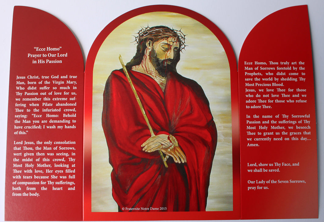 Prayer to the Ecce Homo Triptych - English