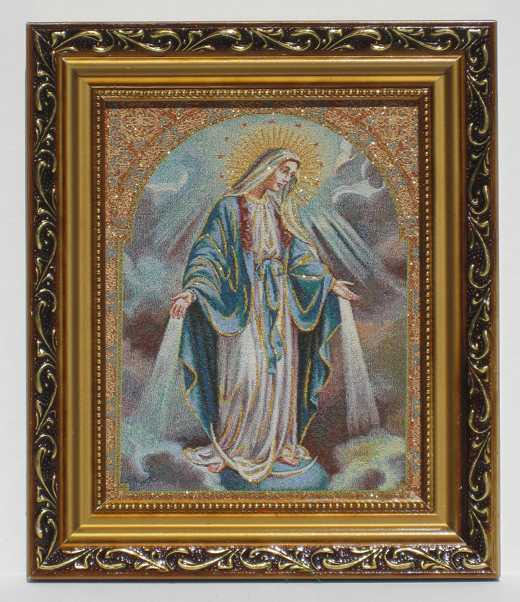 Immaculate Conception Tapestry Style Picture Frame