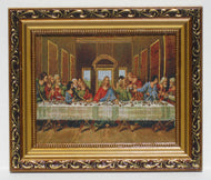 The Last Supper Tapestry Style Picture Frame