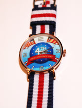 Load image into Gallery viewer, 4th of July Patriotic Wrist Watch
