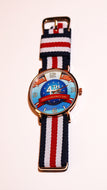 4th of July Patriotic Wrist Watch