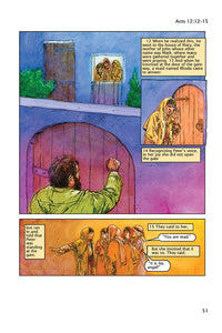 The Catholic Comic Book Bible: Acts of the Apostles - Illustrations by Neely Publishing
