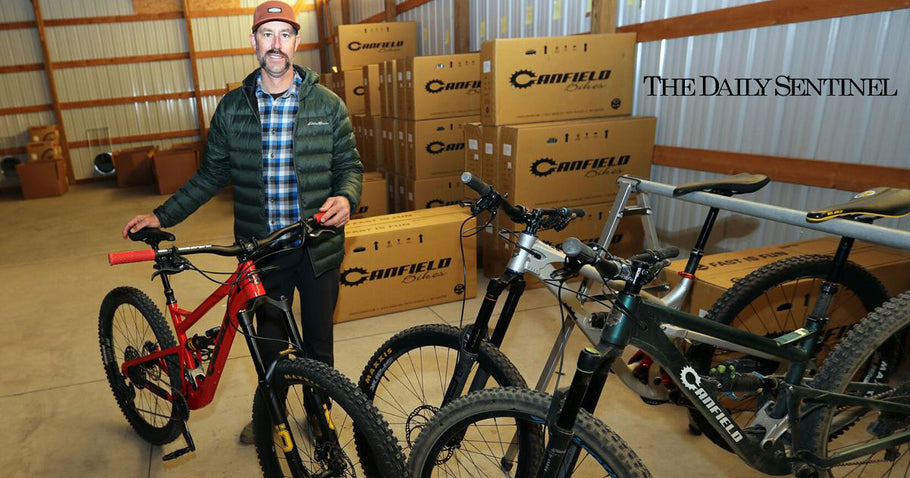 The Daily Sentinel Features Canfield Bikes in Article on Economic Diversity