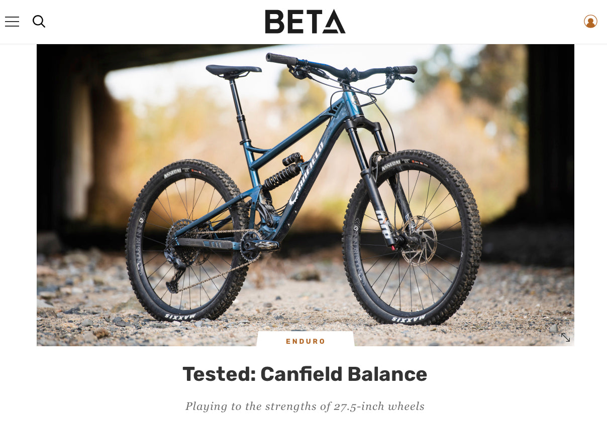 Canfield Balance Review - Beta MTB