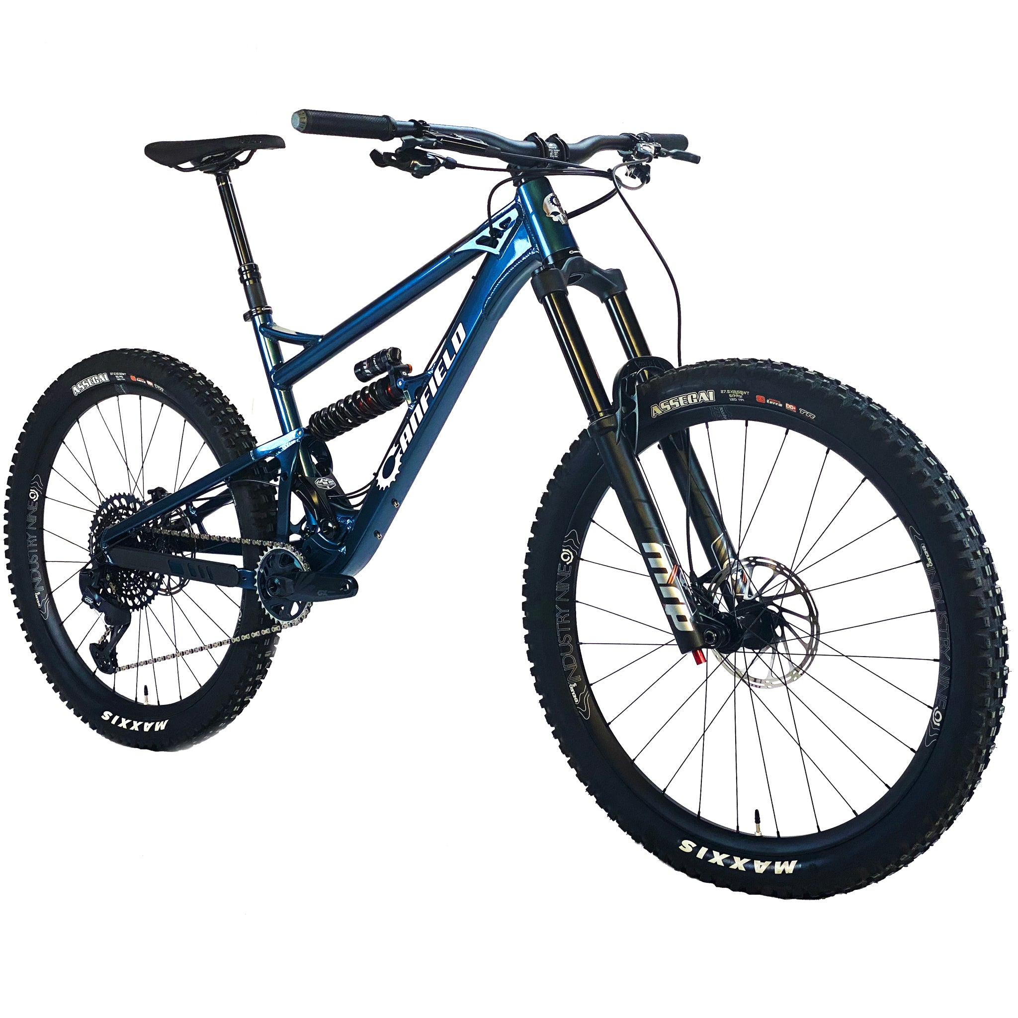 Canfield Balance - full-suspension mountain bike