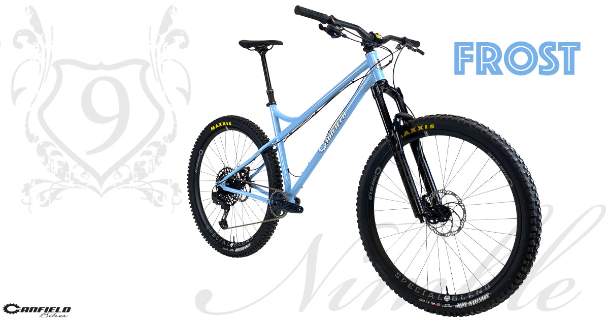 Canfield Nimble 9 Frost - Steel Hardtail 29er