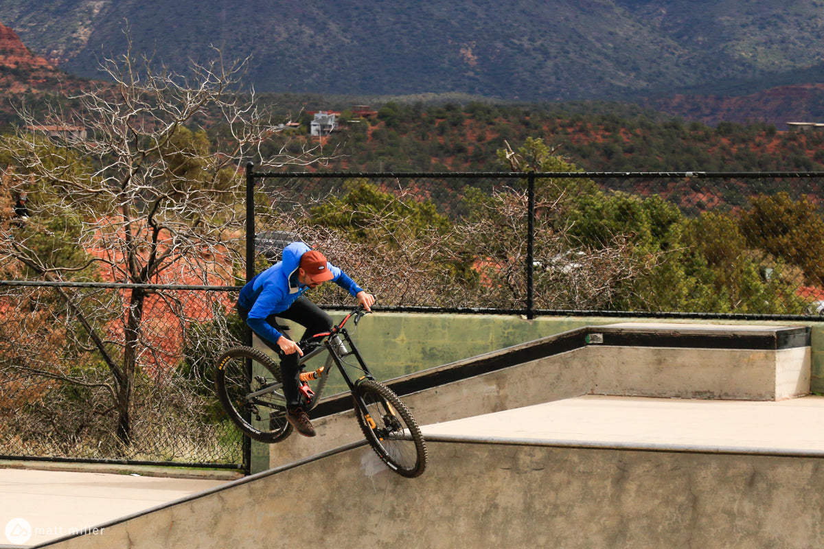 Lance Canfield on the ONE.2 in Sedona