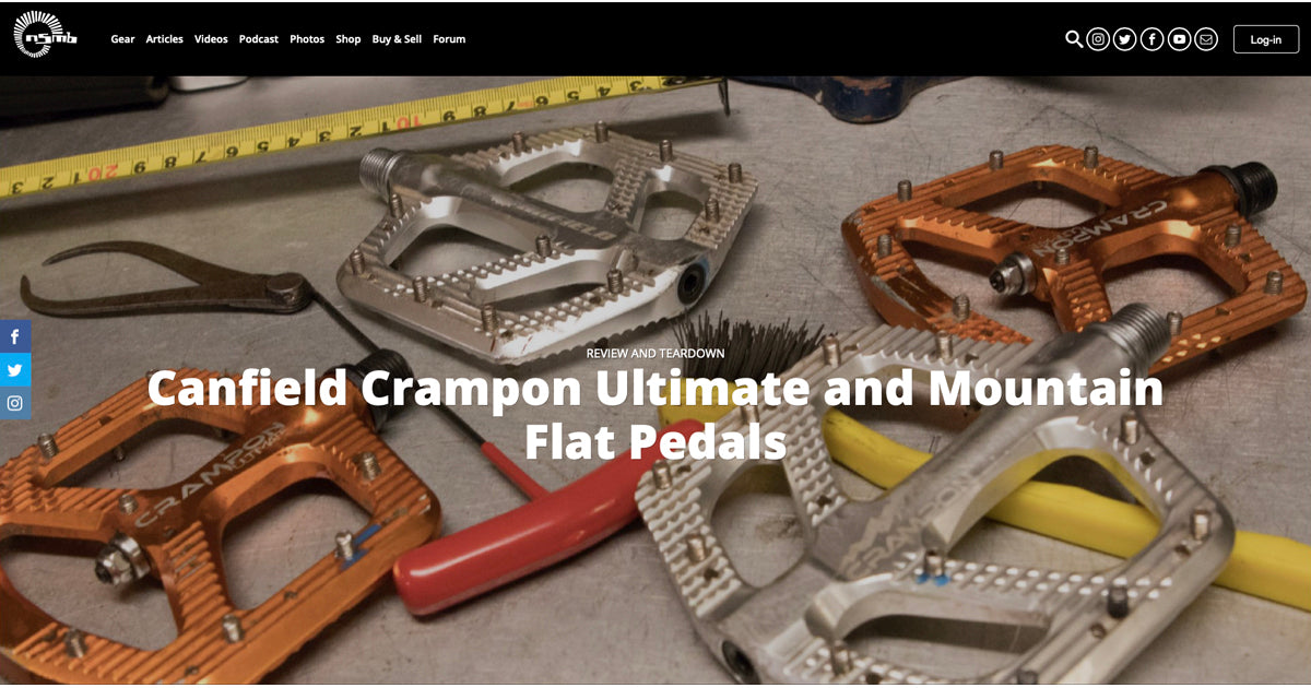 MTB Flat Pedal Review | Canfield Crampon Mountain and Ultimate Pedals - NSMB.com