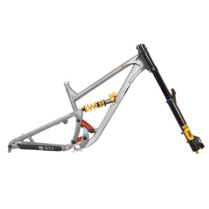 ONE.2 - Bentonite Grey (Frame + Shock + Fork)