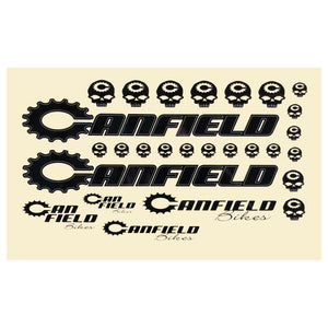 Canfield Bikes Frame Decal Sheet