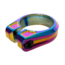 Load image into Gallery viewer, Canfield Limited Edition Oil Slick Seatpost Clamp