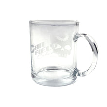 Load image into Gallery viewer, Canfield Bikes Glass Coffee Mug