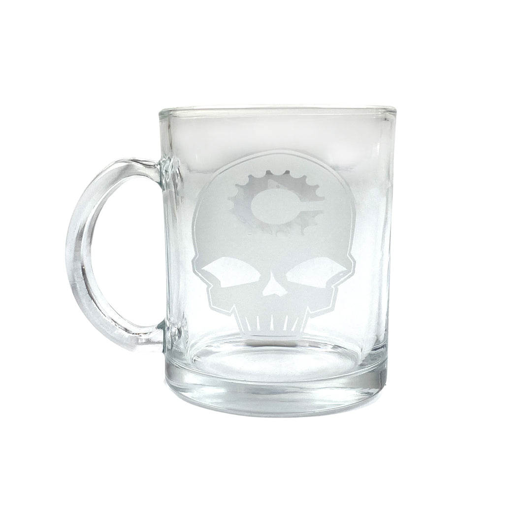 Canfield Bikes Glass Coffee Mug
