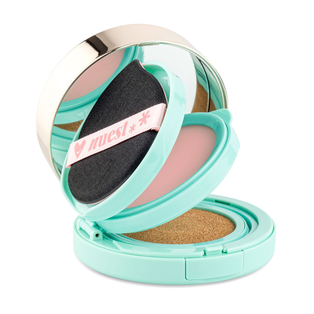 3-In-1 Cushion Compact – Foundation + Photo Finish Rose Primer