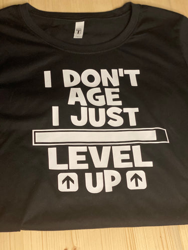 I Level Up Gamer Short Sleeve T-Shirt - Sunny Ohana Creations