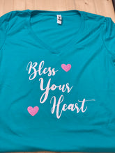 Load image into Gallery viewer, Bless Your Heart Short Sleeve Soft Shirt-Shirt-Sunny Ohana