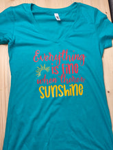 Load image into Gallery viewer, Sunshine Short Sleeve Soft Shirt - Sunny Ohana Creations