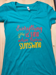 Sunshine Short Sleeve Soft Shirt - Sunny Ohana Creations