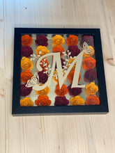 Load image into Gallery viewer, Rolled Flower Shadow Box with Personalized Letter-Home Decor-Sunny Ohana
