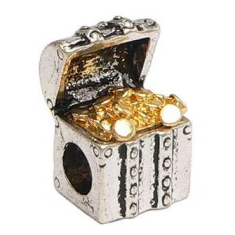 Treasure Chest Charm - Fits Pandora