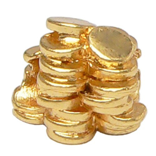 Stack of Gold Coins Charm - Fits Pandora