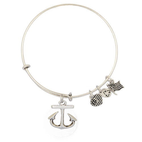 Anchors Aweigh Adjustable DIY Charm Bracelet