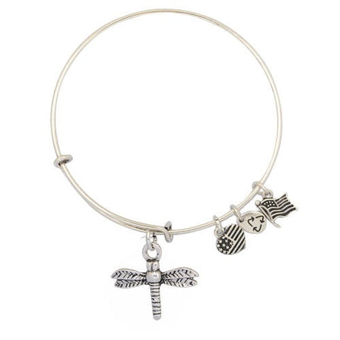 Dragon Fly Adjustable DIY Charm Bracelet