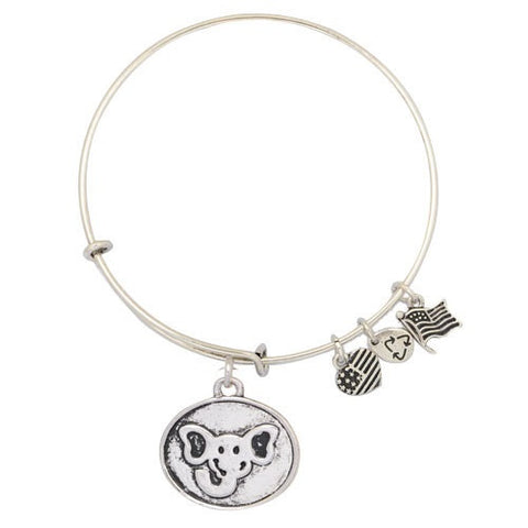 Elephant Charm Adjustable DIY Bracelet