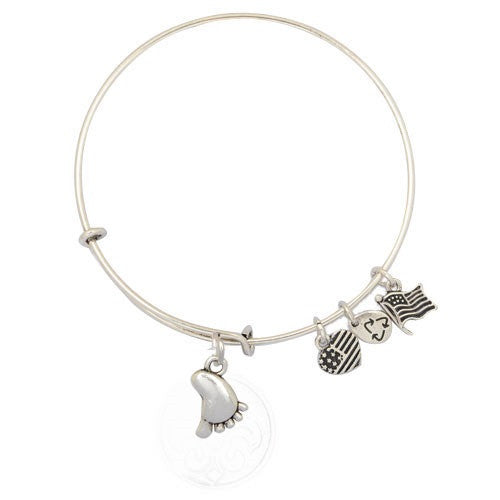 Footsie Adjustable DIY Charm Bracelet