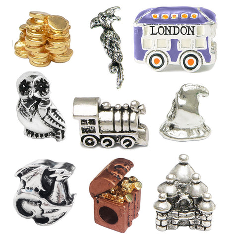Harry Potter Inspired Nine Charm Set - Pandora Style Compatible