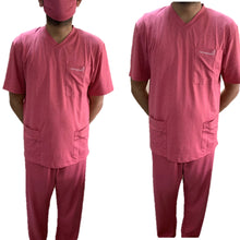 Load image into Gallery viewer, **FDA Approved** Reusable Nano Technology Environmentally Friendly Medical Scrubs Full Suit – Half sleeves - 1 Qty: 10 Full Suits