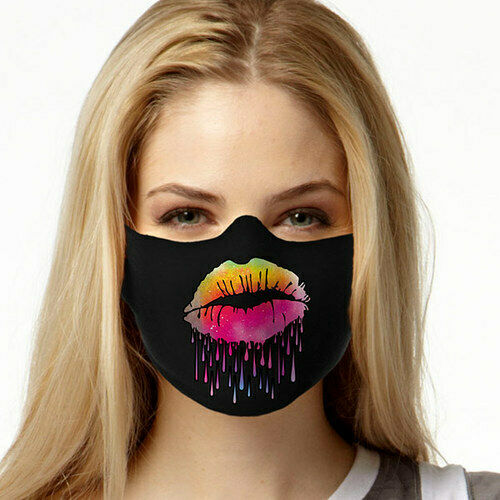 Lips Like Sugar FACE MASK Cover Your Face Masks