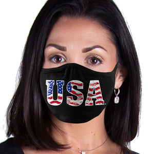 USA FACE MASK American Pride, Flag Face Covering