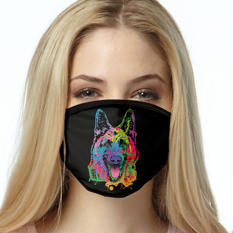 German Shepherd FACE MASK Cover Your Face Masks