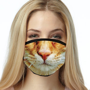 Cat FACE MASK Cover Your Face Masks