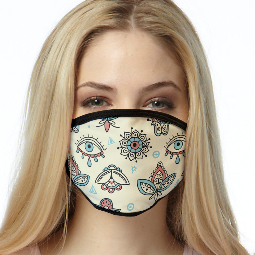 Boho Pattern FACE MASK Cover Your Face Masks