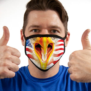 Eagle Flag FACE MASK Cover Your Face Masks