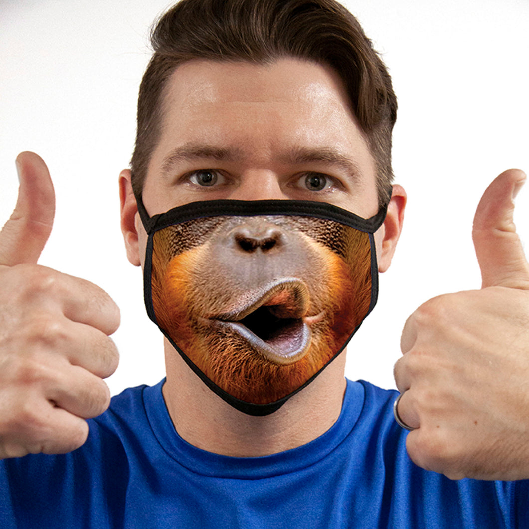 Orangutan FACE MASK Cover Your Face Masks