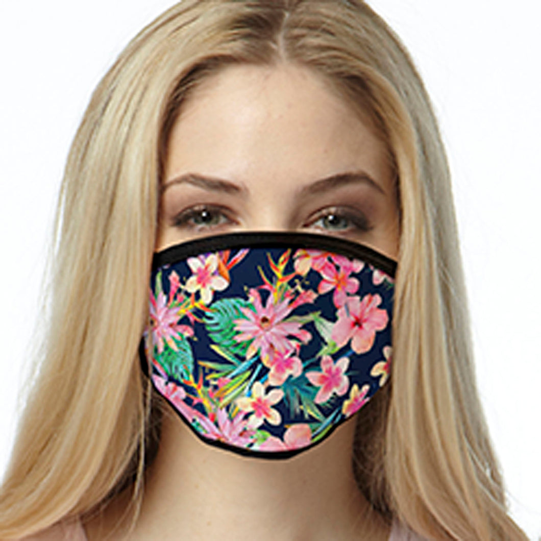 Tropical Flowers FACE MASK Cover Your Face Masks