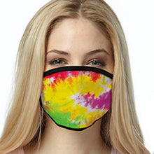 Load image into Gallery viewer, Festival Dye FACE MASK Cover Your Face Masks
