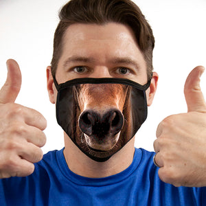 Horse FACE MASK Cover Your Face Masks
