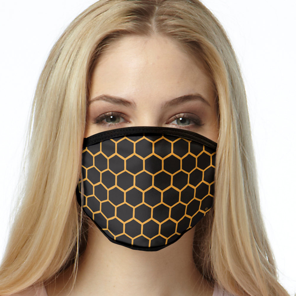 Honeycomb FACE MASK Cover Your Face Masks