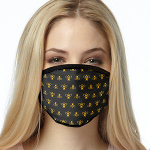 Designer Bees FACE MASK Cover Your Face Masks