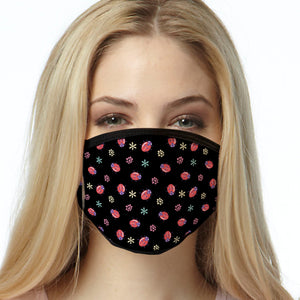 Lady Bug FACE MASK Cover Your Face Masks