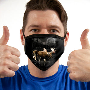 Moose FACE MASK Cover Your Face Masks